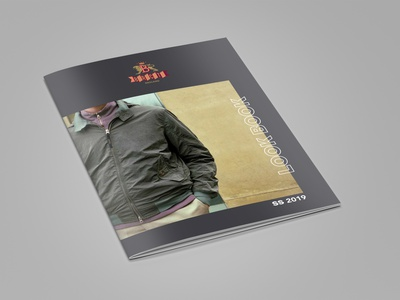 Baracuta Lookbook SS2019 print design layout art direction