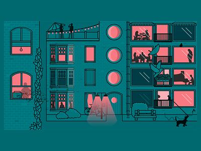 Repepoklouze - Twice Video still rearwindow character animation illustration design