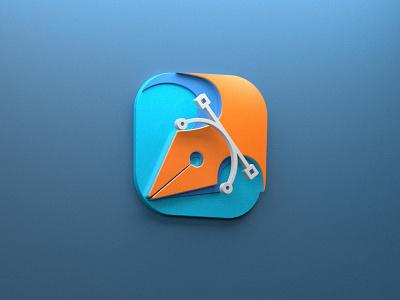 Logo vector ui logo design photoshop rendering render cinema4d 3d artist 3d