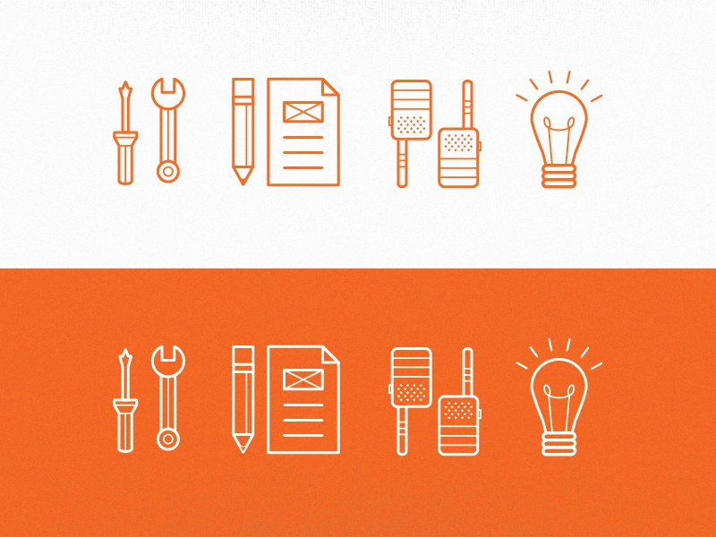 Architecture icon set by theresa behrens goodall dribbble for Architecture icon