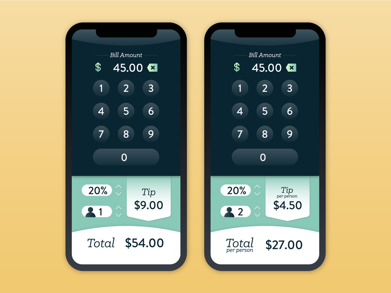 DailyUI 004 :: Calculator calculator phone app adobe illustrator vector ui design