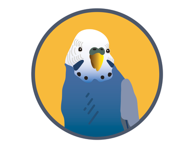 TidePool - Parakeet Badge