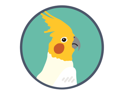 TidePool - Cockatiel Badge