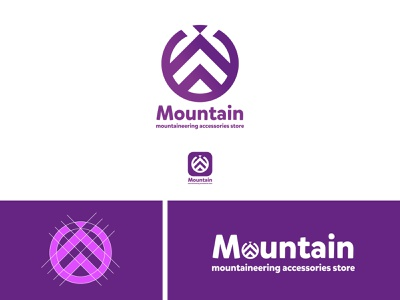 Mountain mountaineering accessories store logo design idea free golden gate bridge golden gate goldenratio monogram logotypes professional modern logo fibonacci logodesign branding logotype logo designer logo design design logo mark logo logo design branding designer