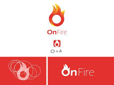 On Fire logo design modern professional logos dribbble ideas idea design art golden ratio goldenratio fibonacci logodesign branding logotype logo designer logo design logo design logo mark logo design branding designer
