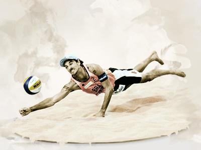 e-Volley sport fresh volleyball ball world modern amazing web design