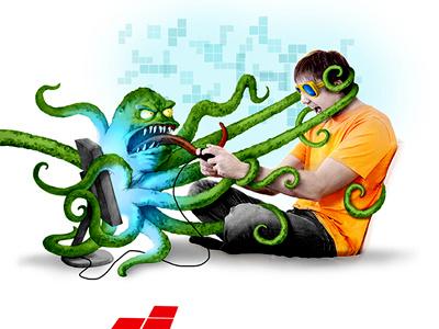 JoyGame game joy layout draw web design fresh modern graphic