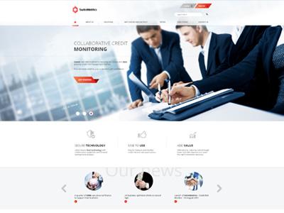 SwissMetrics  buisness amazing financial office fresh modern layout web design
