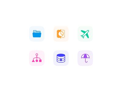 Staff & Payroll management planning servers data payroll staff figma vector ui design illustration icon