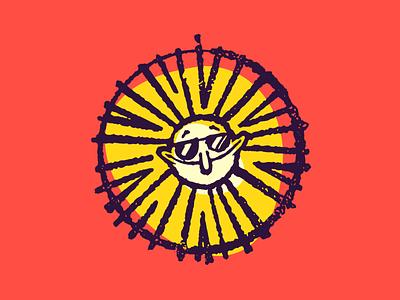 Stay Cool vector figma procreate cool sun illustration