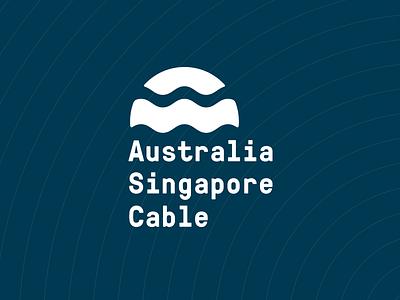 Australia Singapore Cable australia singapore cable waves ocean sea sun logo pressura sunrise