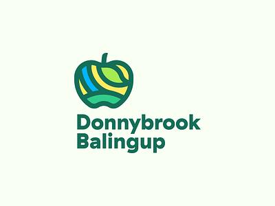 Donnybrook Balingup logo shire town leaf hills fields river apple balingup donnybrook