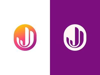 JJ thicklines monogram logo