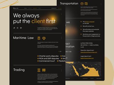 Foscom FZE | Corporate website icon ui branding minimal animation web website design