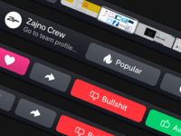 Dribbble Touchbar Macbook Pro 2016 Interface Concept Freebie
