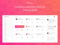 Designer-Client Management Platform Dashboard Design