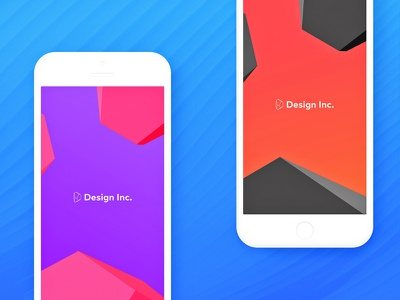 Free Design Inc. iPhone (7, 7+, SE) Wallpaper free art graphic zajno iphone ui design mobile ios wallpaper designinc freebie