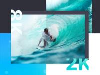 VR Headset Company Website Design