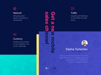 New Landing Page Design for Gift Giving Platform