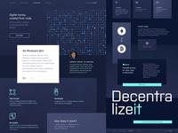 Website Design for Blockchain Payment Platform