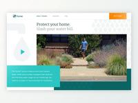 Promo Website for Flume Leak Detection System Goes on Awwwards