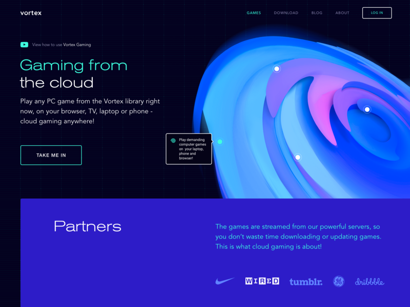 Gaming from the Cloud Redesign Experiment by Sasha Turischev