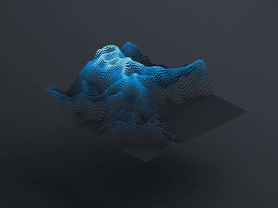 Data Visualization Experiment motion simple 3d animation render vector digital art grid minimal graph data visualisation chart experiment graphic design visual 3d c4d cinema4d cinema 4d video zajno