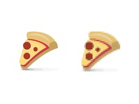 8-Bit Pizza Favicon