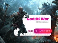 God Of War Product UI
