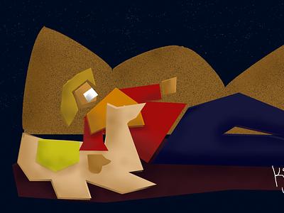 PERUVIAN SIERRA digitalart peru illustration