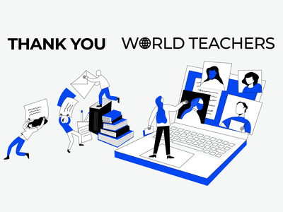 Thank You World Teachers trueweb teachersday worldteachersday