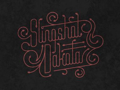Slingshot Dakota design type typography