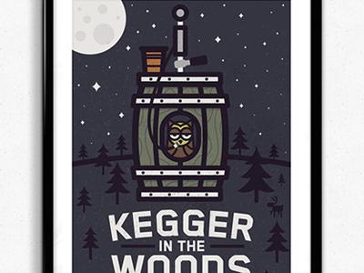 Kegger In The Woods