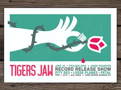 Tigersjaw poster