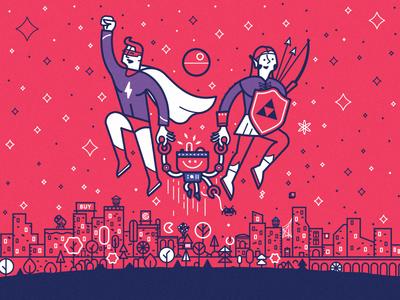 RIP book cover cover parenting nerd book geek illustration design