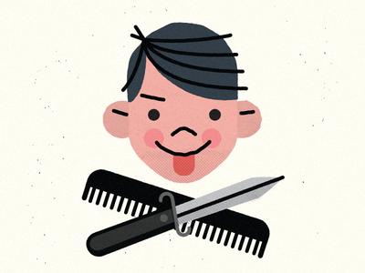 Lil' Punk character greaser punk design illustration