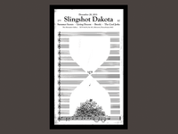 Slingshot Dakota - End Of The Year Poster