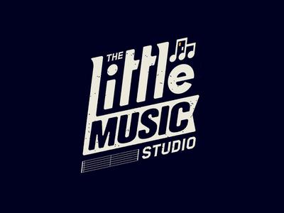 The Little Music Studio philly philadelphia music nonprofit design logo
