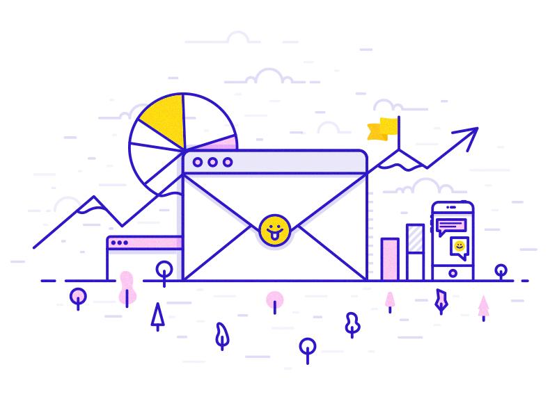 😛 digital marketing marketing design illustration