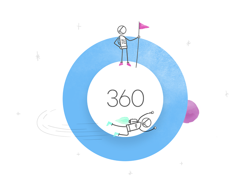 Articulate 360 e-learning learning elearning illustration design