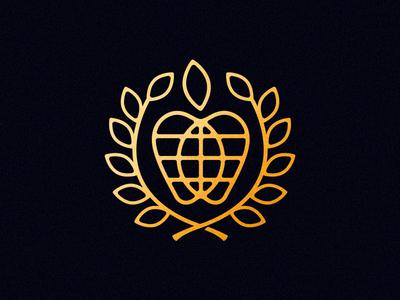 💀 RIP 💀  world nyc mark logo illustration design