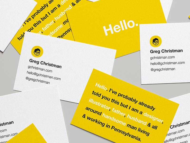 Biz Cardz personal rebrand branding no sleep business cards illustration design