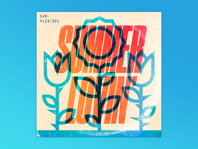 ☀️❤️ playlist record illustration design