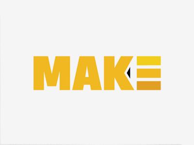 Make 4 logo identity mark negative space