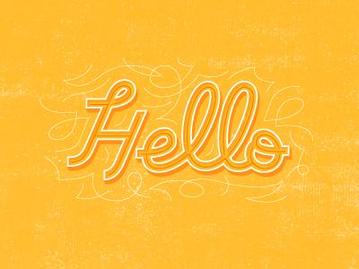 Hello type typography design