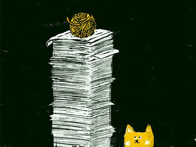 😺 doodle cat illustration design