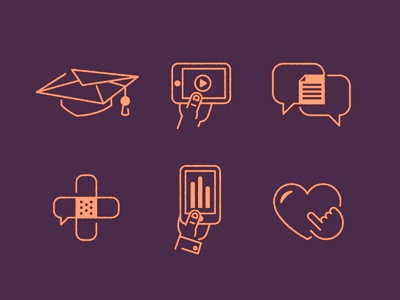 icons icons iconography design illustration health healthcare
