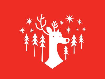 Rudolph design illustration christmas xmas gift rudolph