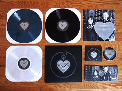 Slingshot Dakota - Dark Hearts slingshot dakota dark hearts record design design illustration topshelf records