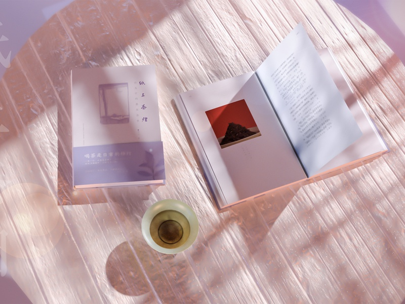 纸上茶烟 branding 3d art